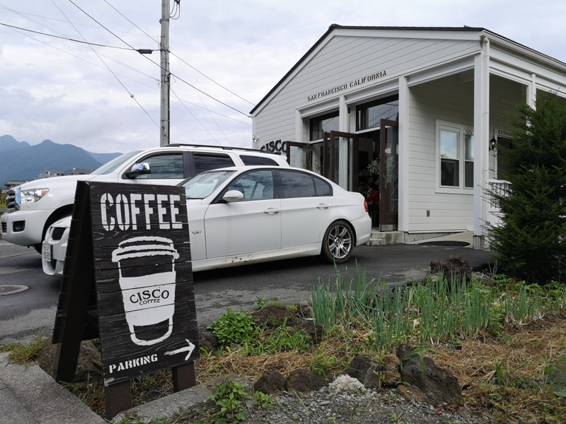 ciscocoffee0103 Kawaguchiko-Cisco Coffee浪漫白色小木屋 河口湖畔美式咖啡館 滿滿美加的味道