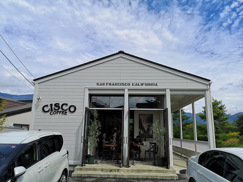 ciscocoffee0108 Kawaguchiko-Cisco Coffee浪漫白色小木屋 河口湖畔美式咖啡館 滿滿美加的味道