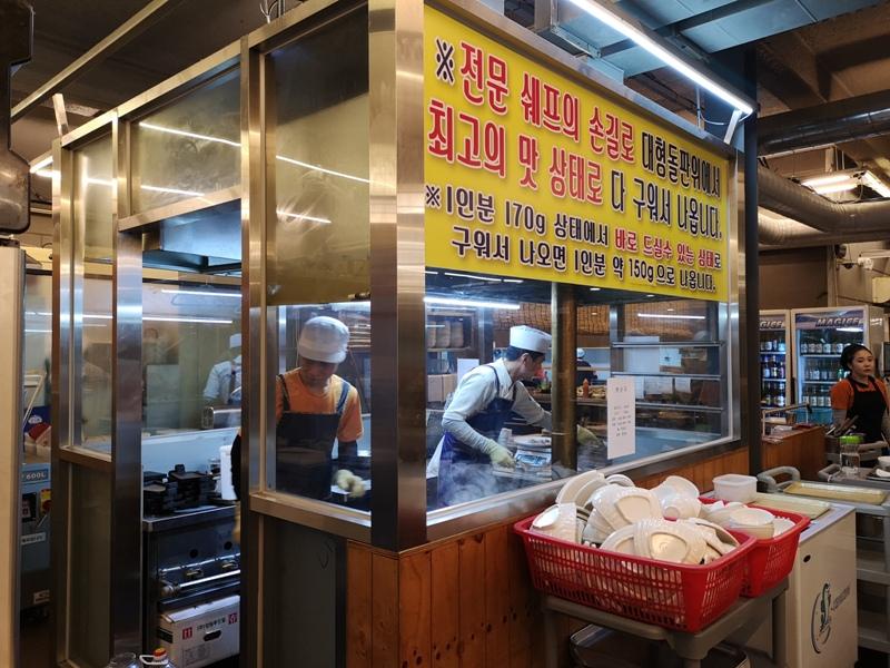 KoreaBBQ14 Seoul-濟州大石板烤五花肉店 首爾樂天世界旁傳統烤肉五花肉彈韓牛嫩