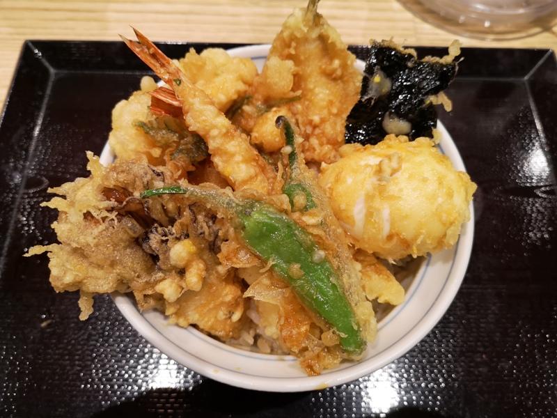 tendon6 Ginza-天丼らぁ麺ハゲ天 銀座店 不油不膩百年天丼店