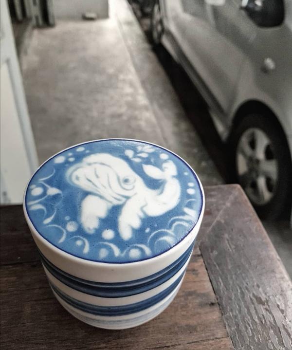 bluewhalecafe21 Bangkok-Blue Whale Cafe大海FU藍鯨悠遊 曼谷網紅咖啡館