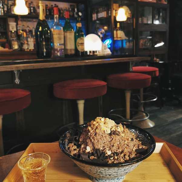 showaiceice 大安-昭和浪漫冰室 日式風格台式冰品 小酒館的夏日清涼