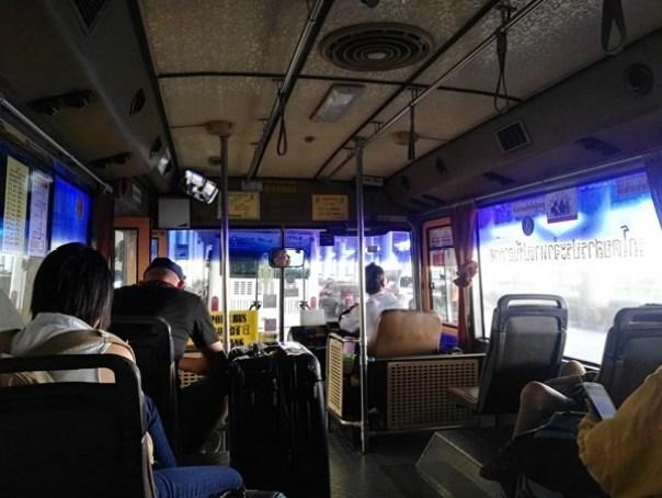 A107 Bangkok-DMK機場巴士A1/A2 便宜快速 接BTS/MRT往返市區DMK廊曼機場