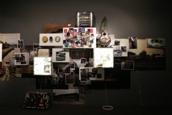 Ando27 霧峰-亞洲現代美術館(亞洲大學內) 大師就是大師 安藤忠雄 清水模三角形與光 大破大立展覽吸引人