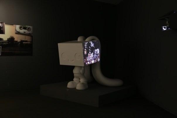Ando32 霧峰-亞洲現代美術館(亞洲大學內) 大師就是大師 安藤忠雄 清水模三角形與光 大破大立展覽吸引人