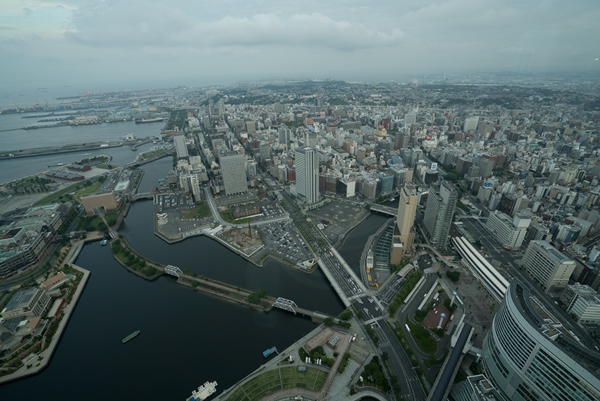 DSC05214 Yokohama-來地標Landmark大樓 賞橫濱港夜景