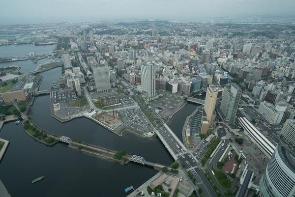 DSC05217 Yokohama-來地標Landmark大樓 賞橫濱港夜景