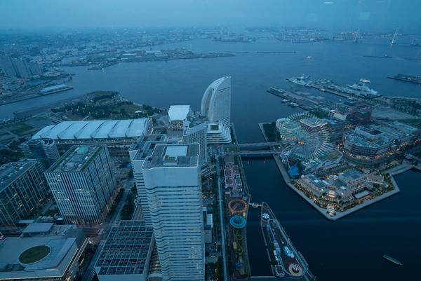 DSC05219 Yokohama-來地標Landmark大樓 賞橫濱港夜景