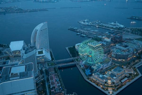 DSC05221 Yokohama-來地標Landmark大樓 賞橫濱港夜景