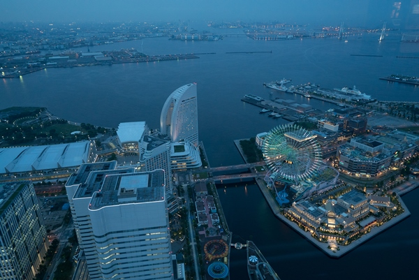 DSC05226 Yokohama-來地標Landmark大樓 賞橫濱港夜景