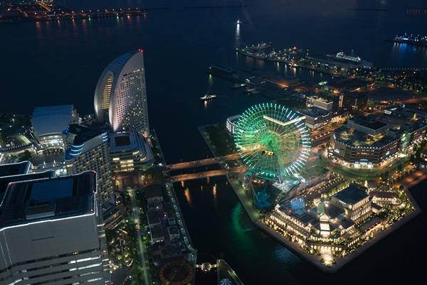 DSC05245 Yokohama-來地標Landmark大樓 賞橫濱港夜景