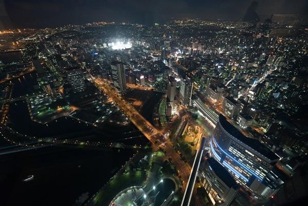 DSC05252 Yokohama-來地標Landmark大樓 賞橫濱港夜景