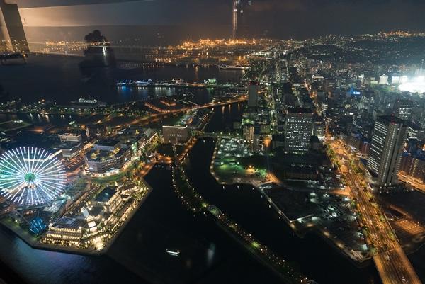 DSC05254 Yokohama-來地標Landmark大樓 賞橫濱港夜景