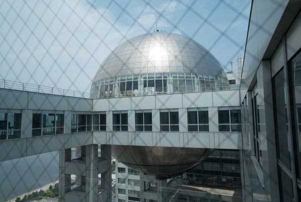 Fujitv39 Odaiba-台場地標富士電視台 前進球體一探究竟