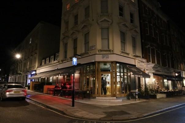 OPSO02 London-倫敦Marylebone車站附近 特色希臘料理OPSO米其林推薦喔
