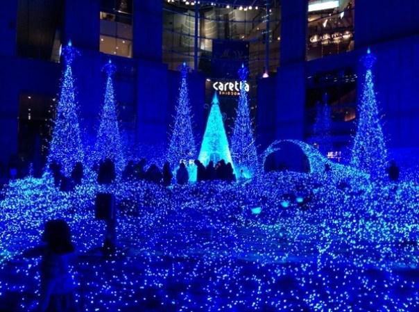 Shiodome05 Shiodiome-Caretta Illumination 2015 矽留燈光秀 無敵浪漫耶誕快樂