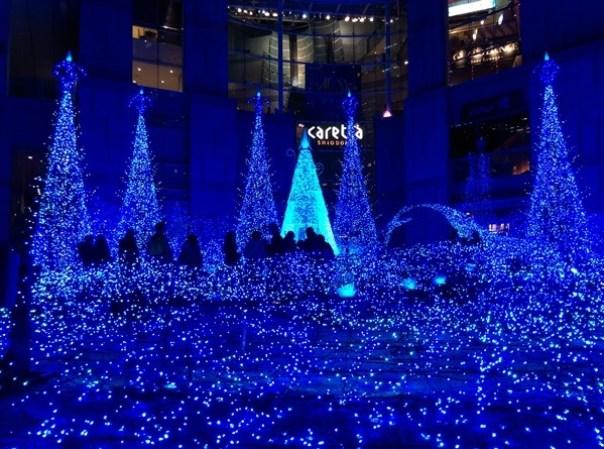 Shiodome07 Shiodiome-Caretta Illumination 2015 矽留燈光秀 無敵浪漫耶誕快樂