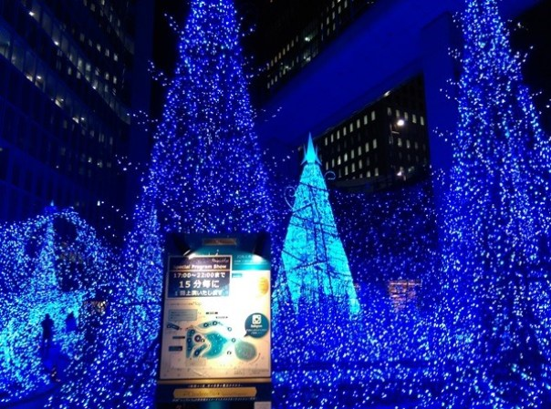Shiodome15 Shiodiome-Caretta Illumination 2015 矽留燈光秀 無敵浪漫耶誕快樂