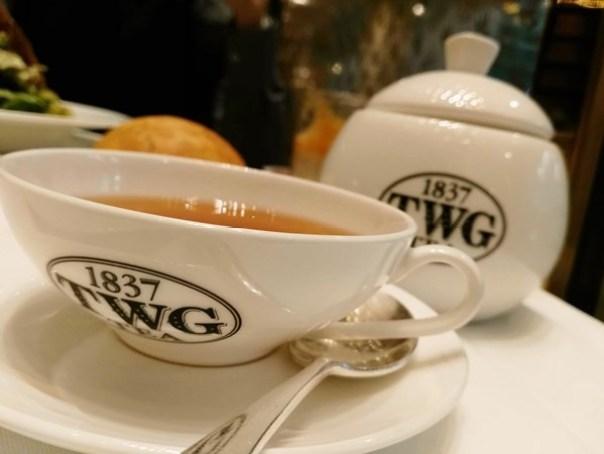 TWG10 信義-101內高級TWG 鹹派好吃茶一流