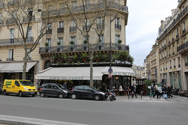 cafe-de-flore01 Paris-花神咖啡 論時事評政府 文人聚集的咖啡館