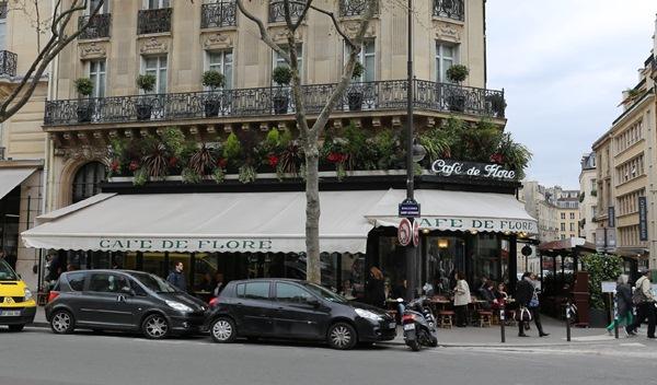 cafe-de-flore02 Paris-花神咖啡 論時事評政府 文人聚集的咖啡館