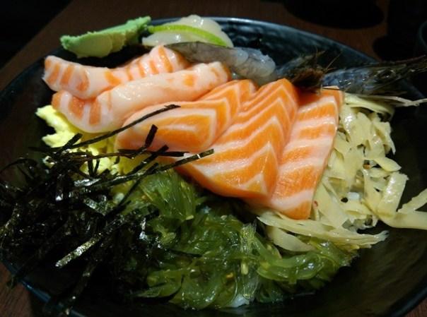 colordon06 中壢-築地鮮魚 Sogo旁 夠意思的三色丼