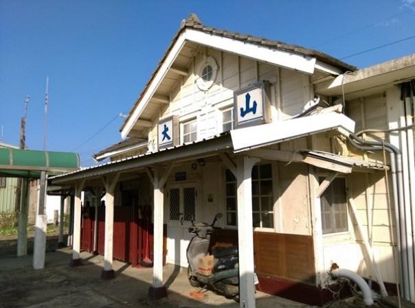 dashanstation06 後龍-大山車站 慢遊台鐵海線木造車站