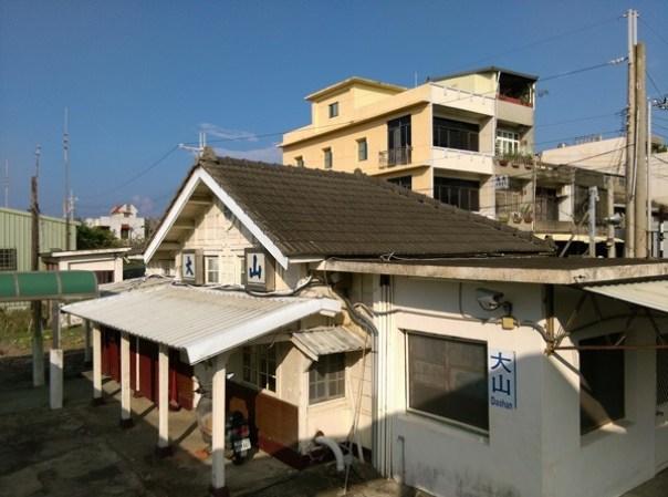 dashanstation07 後龍-大山車站 慢遊台鐵海線木造車站
