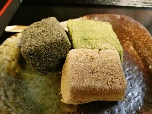 dessert19 Kyoto-峯嵐堂 渡月橋本店 好吃的蕨餅(わらびもち)