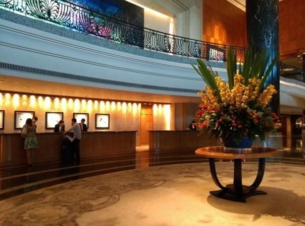 grandhyatt02 HK-Grand Hyatt舒服的飯店 五星級香港君悅酒店