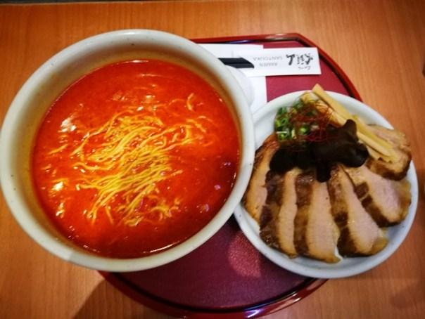 santouka06 大安-山頭火(復興SOGO) 久違了鹽味拉麵 好吃不油膩叉燒軟嫩可口