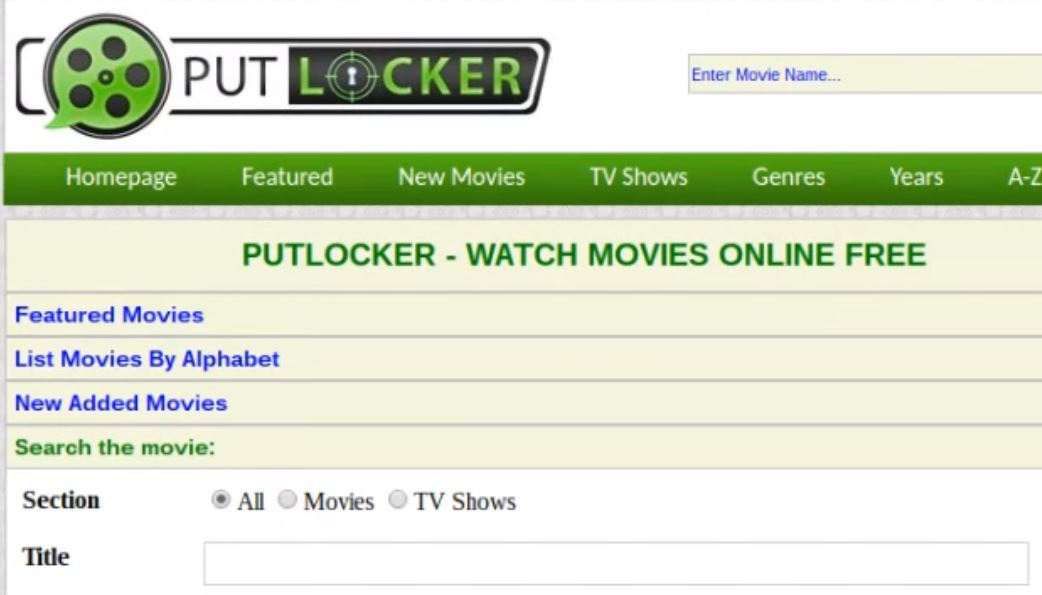 Best Putlocker Alternatives in 2017 That You Should try : PERSONAL TECH : Telegiz: The Latest Technology News and Cool Stuff