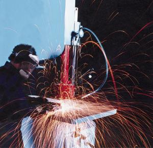 Putting a spark into cutting productivity The Fabricator