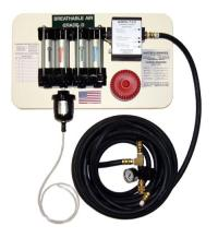 Single-line hose breathable air system available - The ...