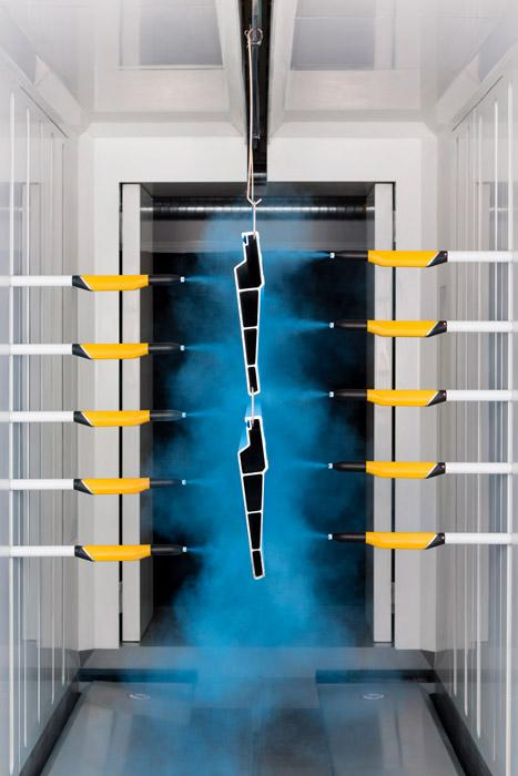 Technological advances in powder coating spray and