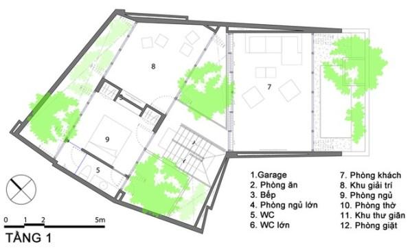 Nhà phố giống như ốc đảo xanh ở Nha Trang - ảnh 14