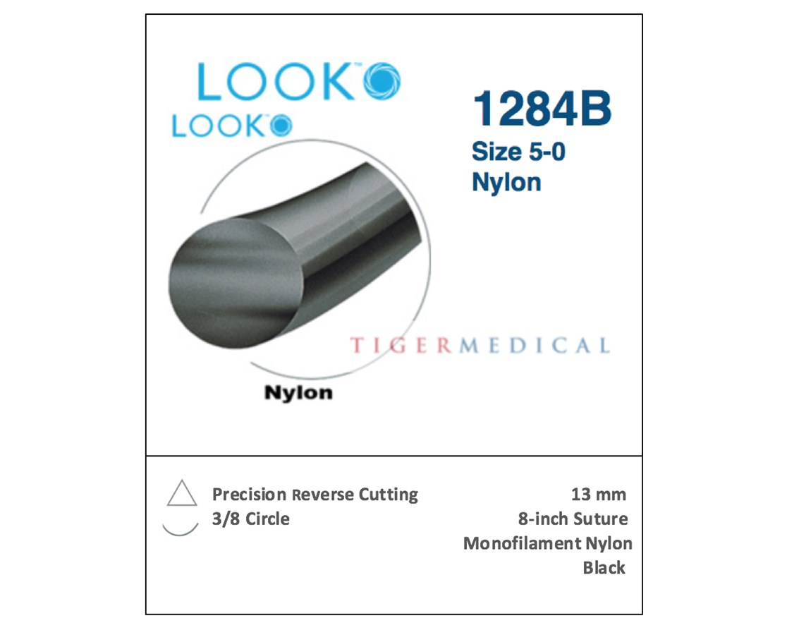 LOOK™ Nylon Non-Absorbable Sutures with Precision Reverse