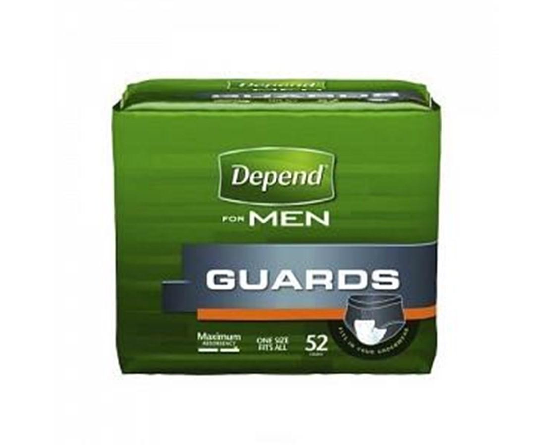Halyard Depend Guards For Men  Save At Tiger Medical, Inc