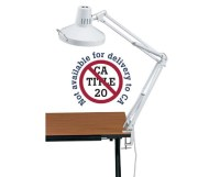 Alvin Swing-Arm Combination Lamp Tiger Supplies