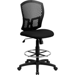 Mesh Drafting Chair Swing Online Flash Furniture Full Back Wl 3958syg