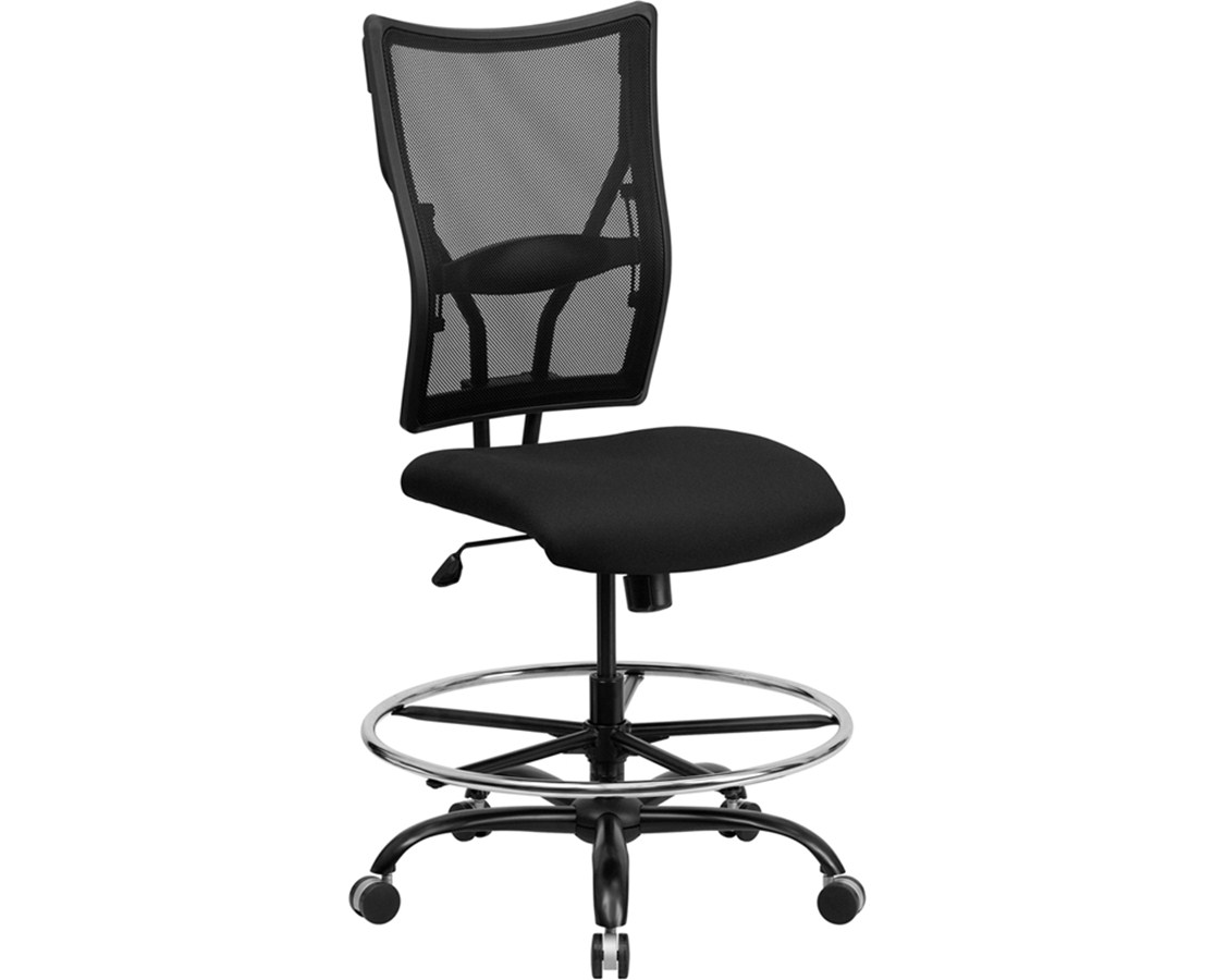 mesh drafting chair office chairs san diego flash furniture hercules wl 5029syg d gg tiger