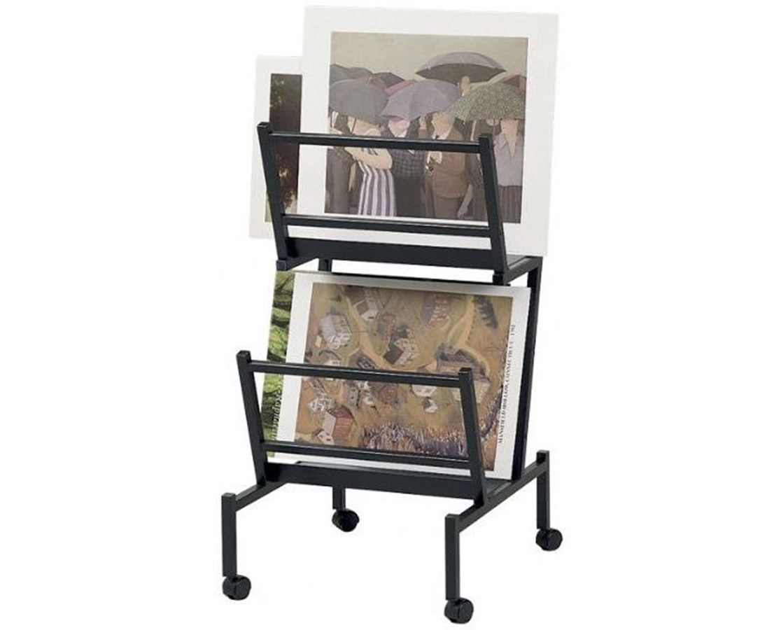 double print and poster holder