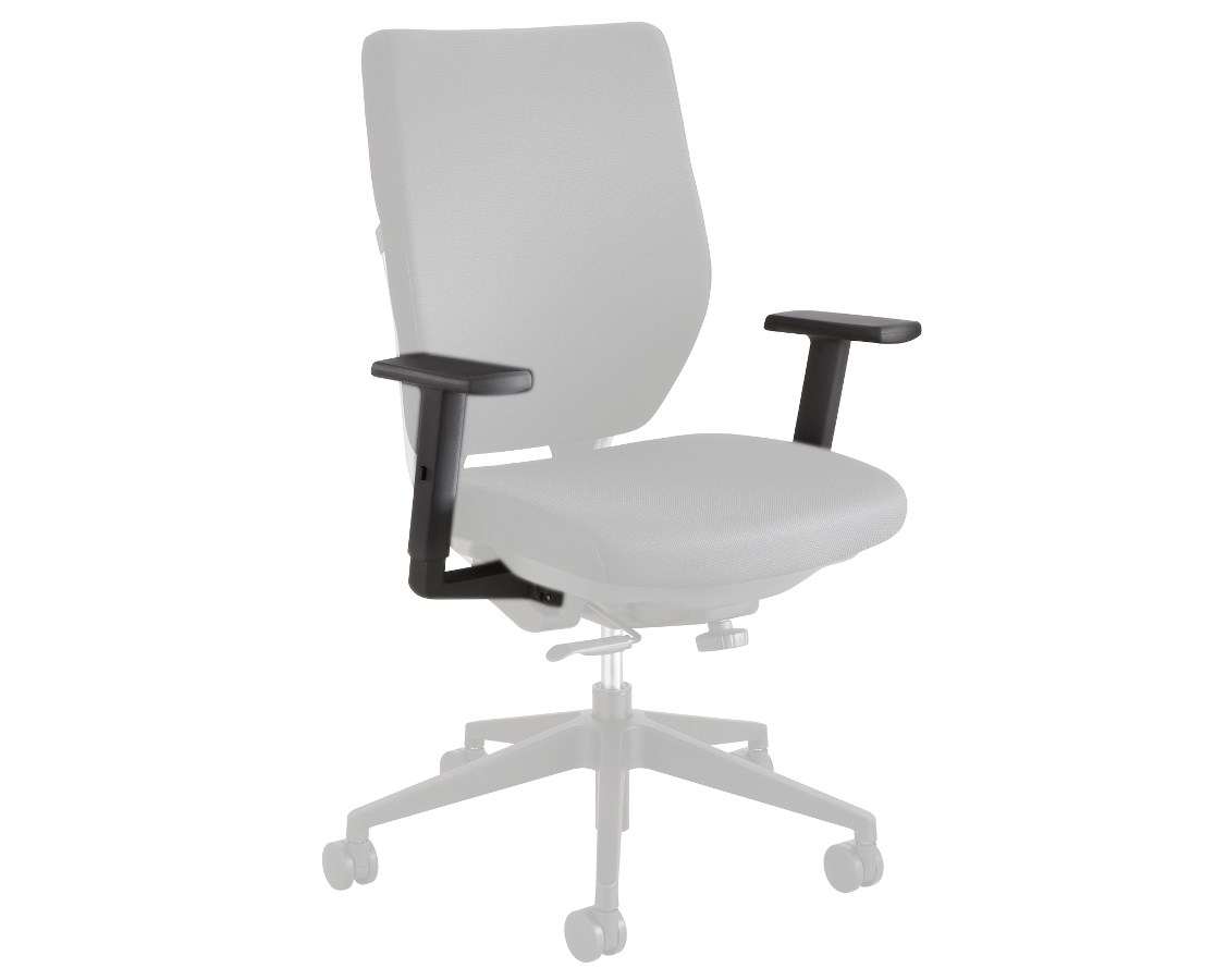 Task Chairs With Arms Arm For Safco Sol Task Chair Set 7064bl