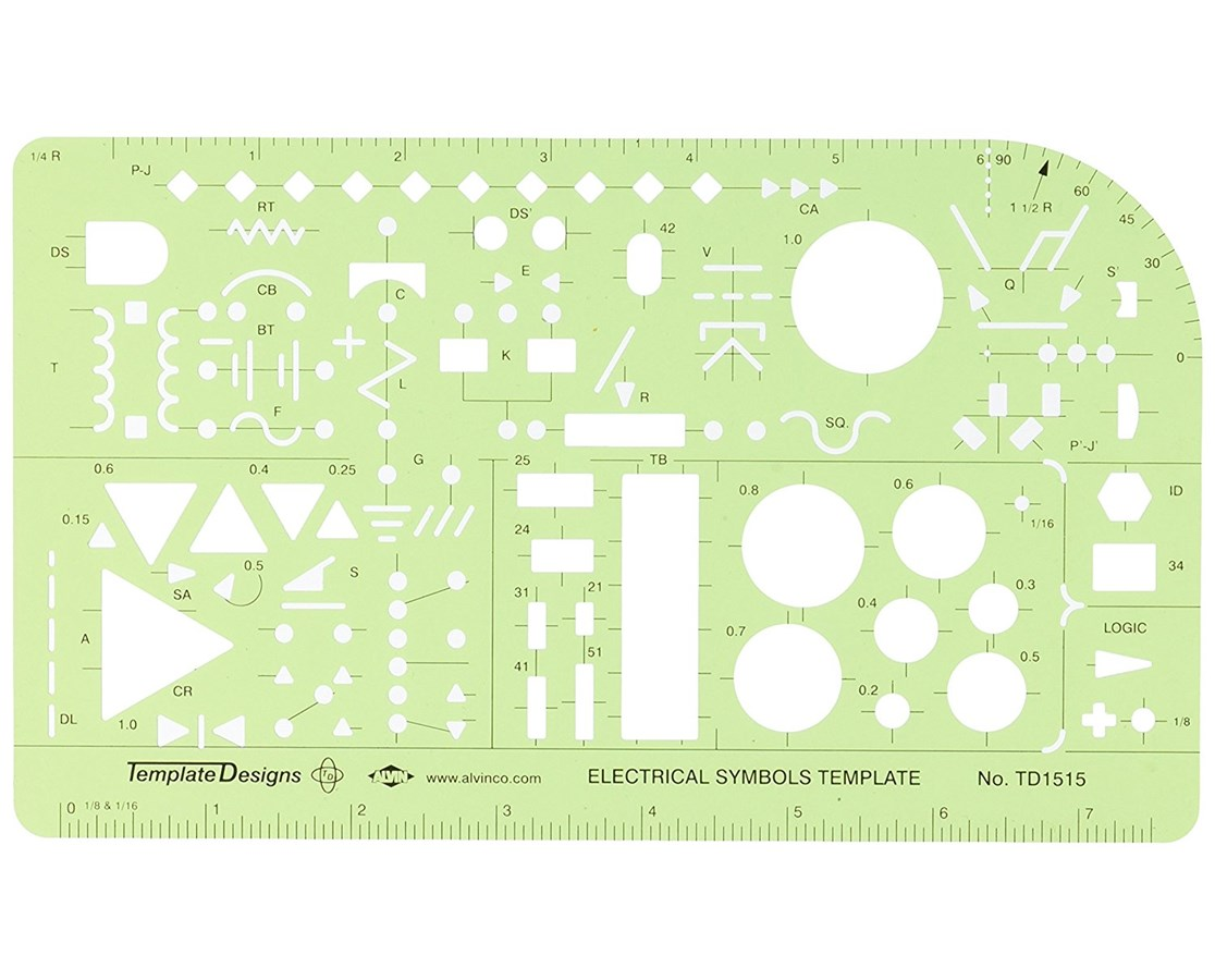 hight resolution of alvin electrical symbols template td1515