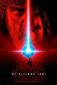 """Poster for the movie """"Star Wars: Os Últimos Jedi"""""""