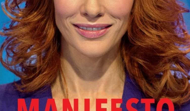 """Poster for the movie """"Manifesto"""""""