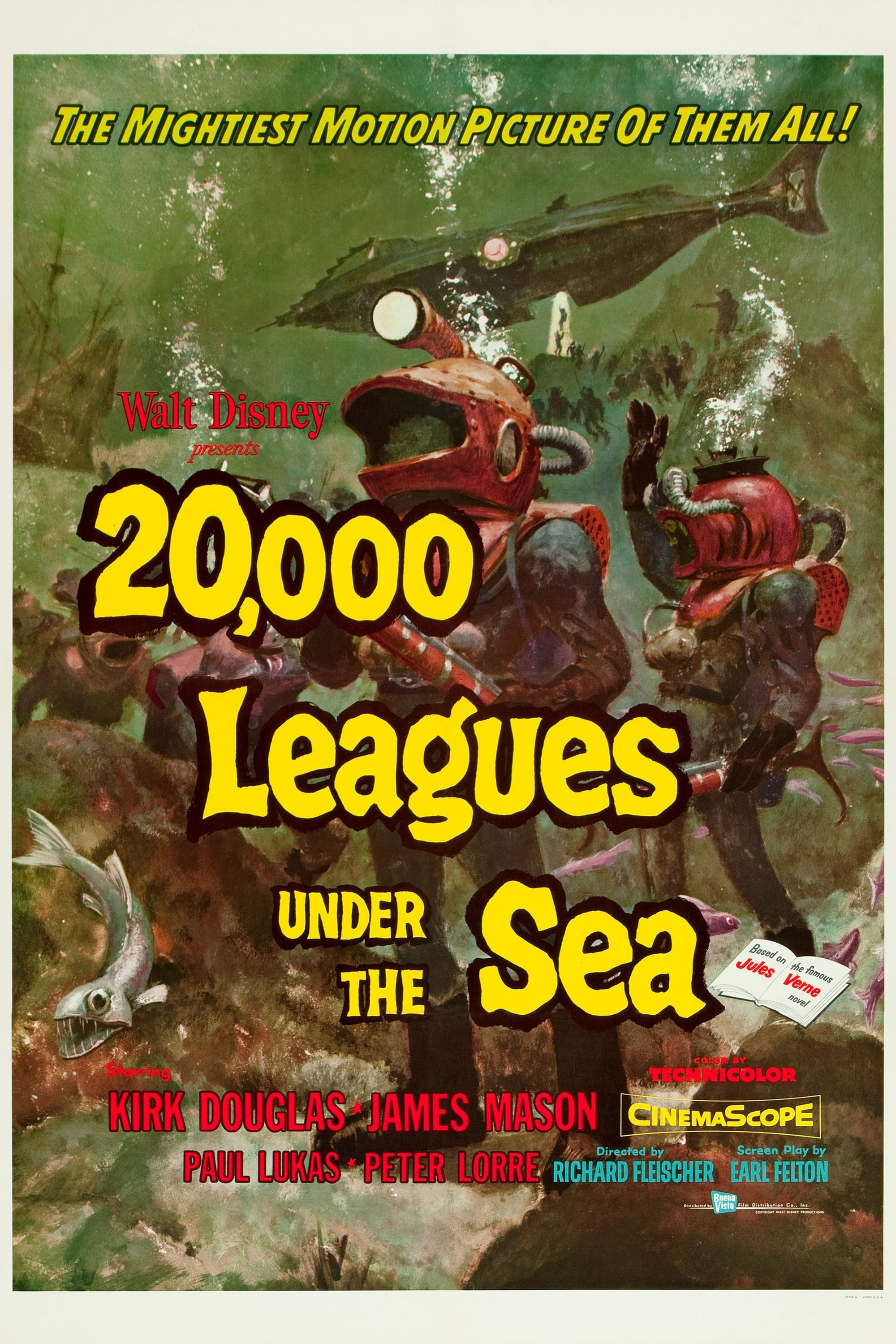 20 000 Leagues Under The Sea Wiki Synopsis Reviews