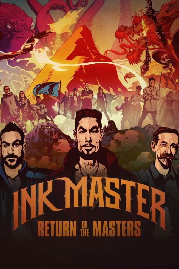 Ink Master Tv Series 2012- - Posters Movie