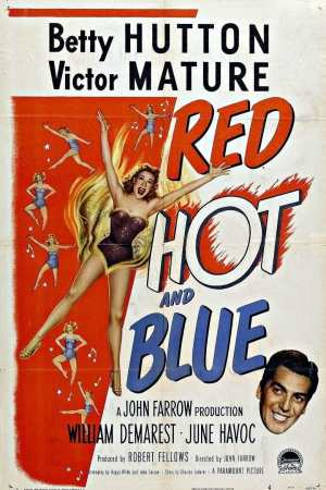 Image Red, Hot and Blue