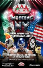 Lucha Libre AAA Invading New York